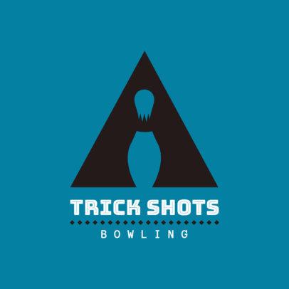 Bowling Online Logo Maker 1589d