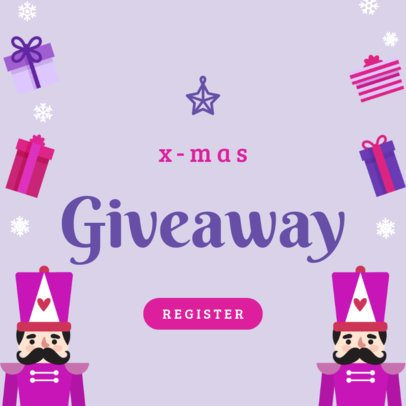 Banner Maker for a Holiday Giveaway 781b