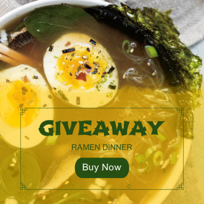 Banner Maker for Restaurant Giveaway 364d