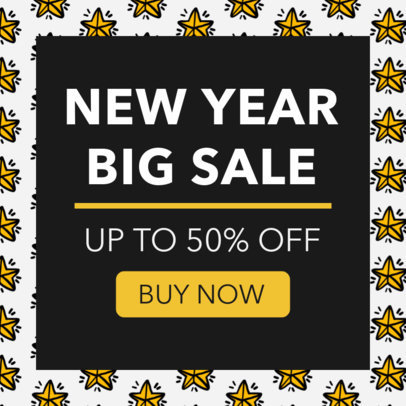 New Year's Sale Banner Maker 775f