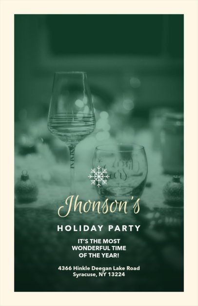 Christmas Flyer Maker for a Christmas Party 850