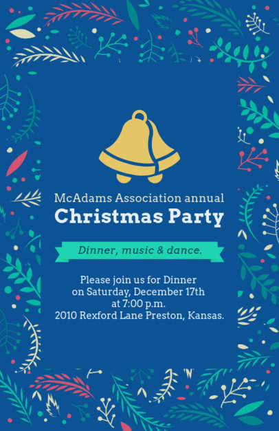 Xmas Flyer Maker for Annual Christmas Parties 848c