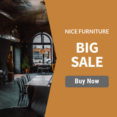Furniture Store Banner Maker for Sales and Offers 534b