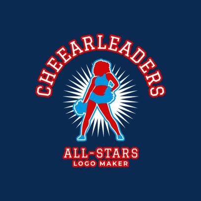 Cheerleading Logo Maker 1596