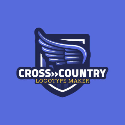 Cross-Country Logo Maker for a Cross Country Team 1567d