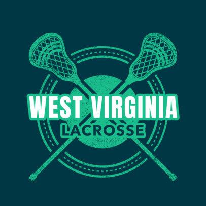 Lacrosse Logo Generator 1590d