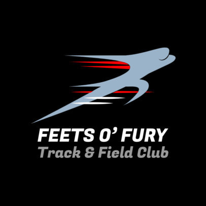 Track and Field Club Logo Generator 1544d