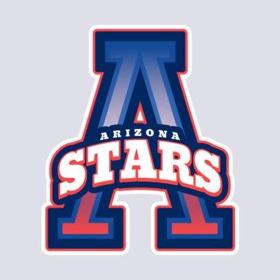 Cheerleader Logo Maker for Cheerleading Team 1597