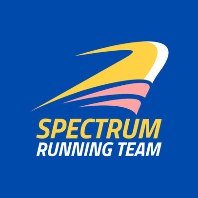 Running Team Logo Creator for Track and Field 1544e