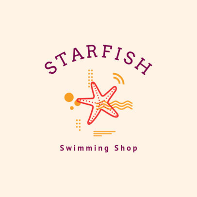 Swimming Logo Creator for Swimming Shop1579d