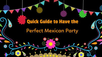 Slideshow Video Maker to Create a How to Video for a Party 468a