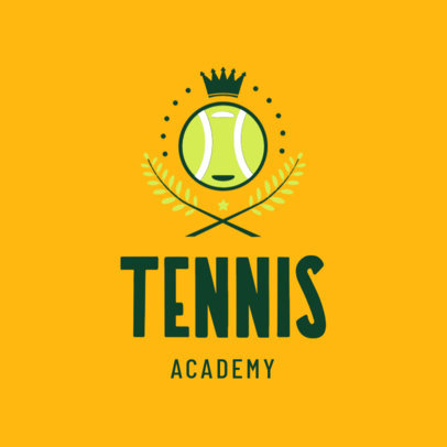 Tennis Logo Maker for a Tennis Academy 1601e