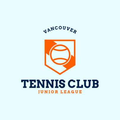 Tennis Logo Generator for Te nnis Club 1604b