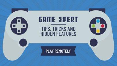 Gaming YouTube Thumbnail Template 886c
