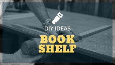 YouTube Thumbnail Maker for Book Shelf Tutorials 890d