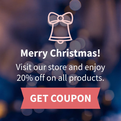 Online Banner Maker for a Christmas Coupon 788b
