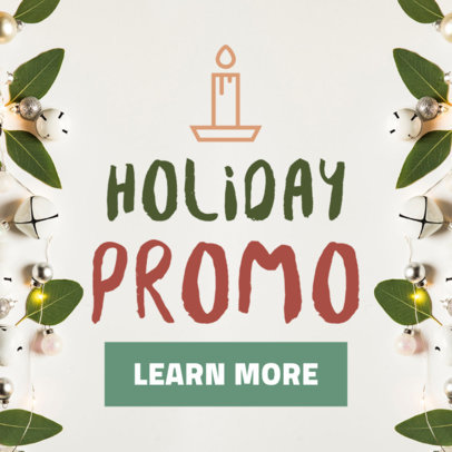 Christmas Banner Maker for a Holiday Promo 788d