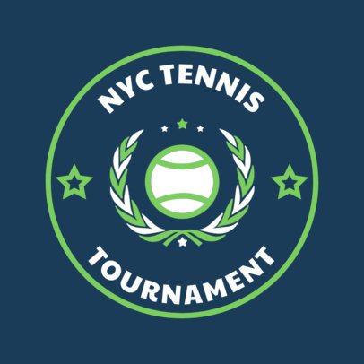 Tennis Logo Design Creator for a Tennis Tournament 1641e