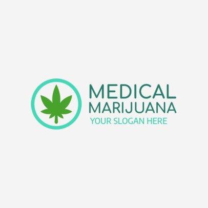 Logo Maker for a Medical Marijuana Clinic 1157 f