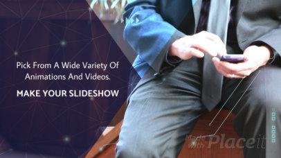 Online Slideshow Maker with Modern Motion Graphics 782
