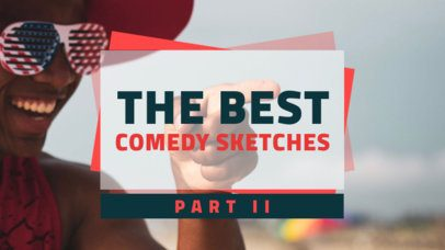 YouTube Thumbnail Online Maker for a Comedy Sketch Compilation 936d