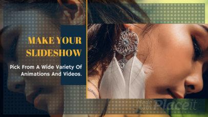 Slideshow Maker with Geometric Motion Graphics 847