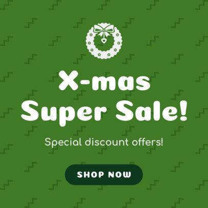 Christmas Banner Generator for an X-mas Super Sale 780b