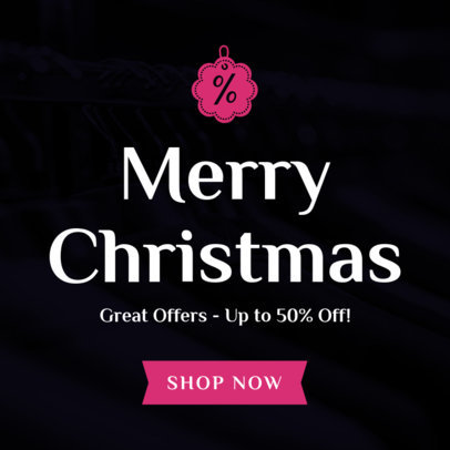 Christmas Banner Design Maker for Christmas Offers 780e