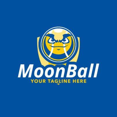 Tennis Logo Maker with Tennis Ball Clipart 1602d