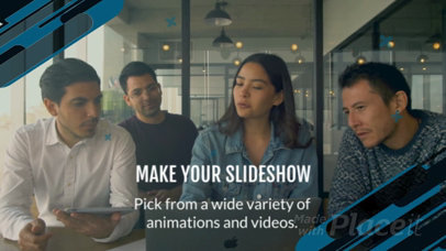 Slideshow Maker with Geometric Animations 845