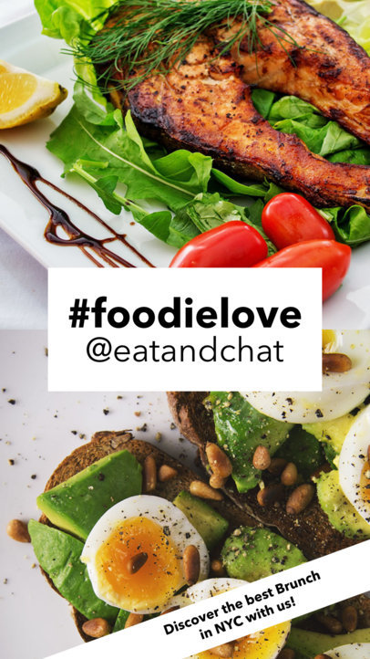 Insta Story Design Template for Foodies 961