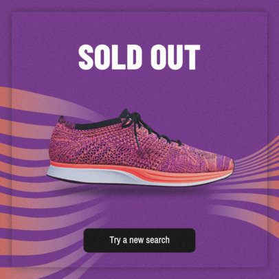 Banner Maker for Sold Out Sneakers 520f