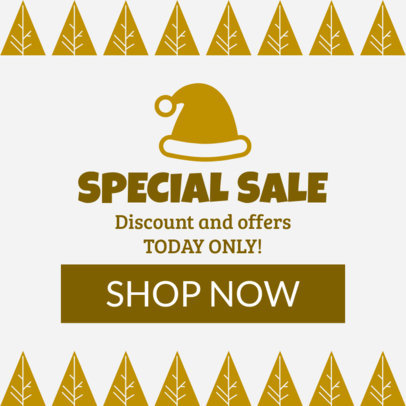 Christmas Sale Banner Maker for a Holiday Sale 777e