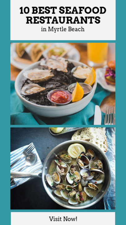 Insta Story Maker for a Seafood Restaurant 941a
