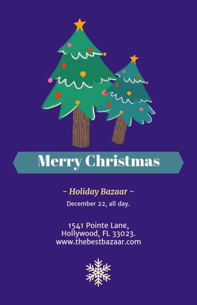 Holiday Bazaar Flyer Generator 855c