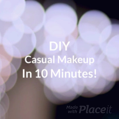Tutorial Slideshow Maker for a Makeup Tutorial 926