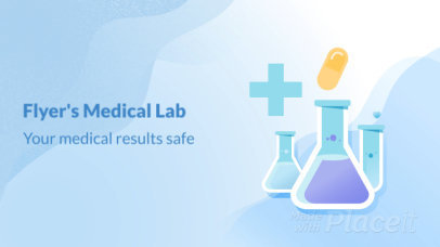 Product Overview Slideshow Maker for a Laboratory Video with Medical Animations 777