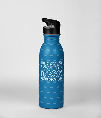 Aluminum Bottle Mockup 24443