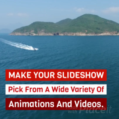Sales Slideshow Maker for an Instagram Promo Video 970