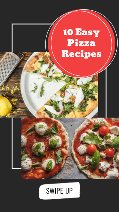 Instagram Story Maker for Pizza Recipes 858c