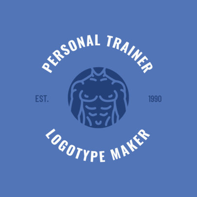 Personal Trainer Logo Maker 1273f