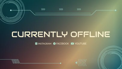 Twitch Offline Template for an Offline Twitch Livestream 978c
