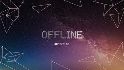 Minimalistic Twitch Offline Banner Maker 978d