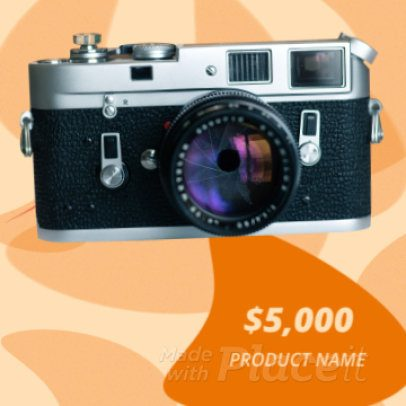 Instagram Slideshow Maker to Create a Product Catalog Video with Animations 912