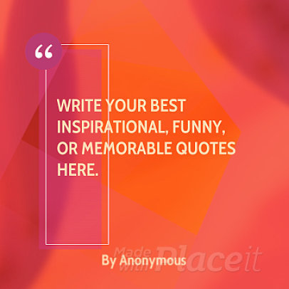 Video Maker for Inspirational Quote Videos with Geometric Animations 859