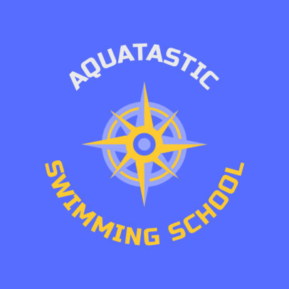 Swimming Logo Maker for a Pro Swim School 1578d