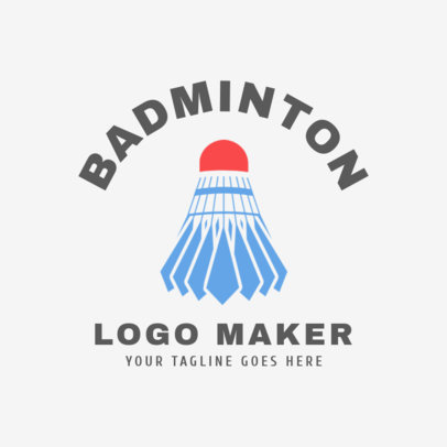 Badminton Logo Maker  1631