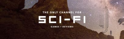Sci-Fi Game Review Banner Maker for Twitch 605b