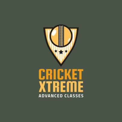 Cricket Logo Maker 1653