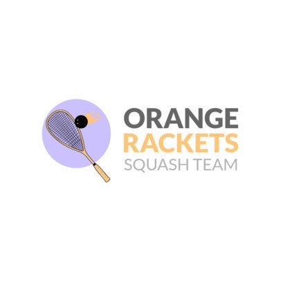 Squash Logo Maker 1633